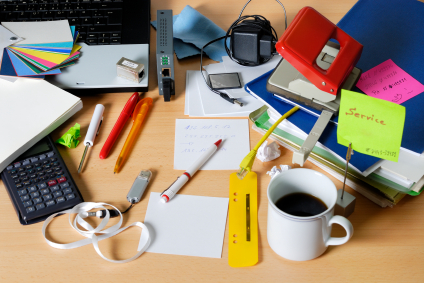 5 Simple Tips for Boosting Productivity - Ian's Messy Desk